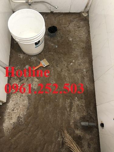 chống thấm nhà vệ sinh tại dĩ an